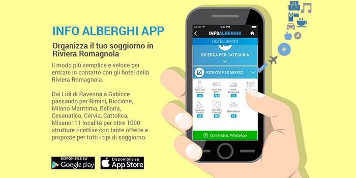 Tutta la Riviera Romagnola in un'App per le tue vacanze! 1