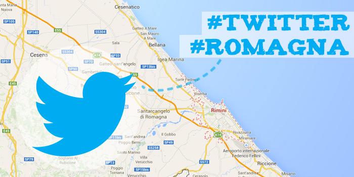 Twitter in Romagna