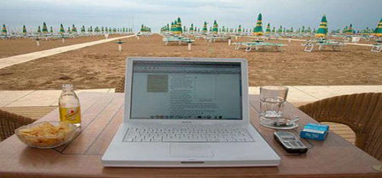 internet in spiaggia